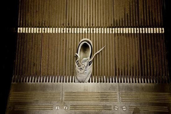 beragadt láb