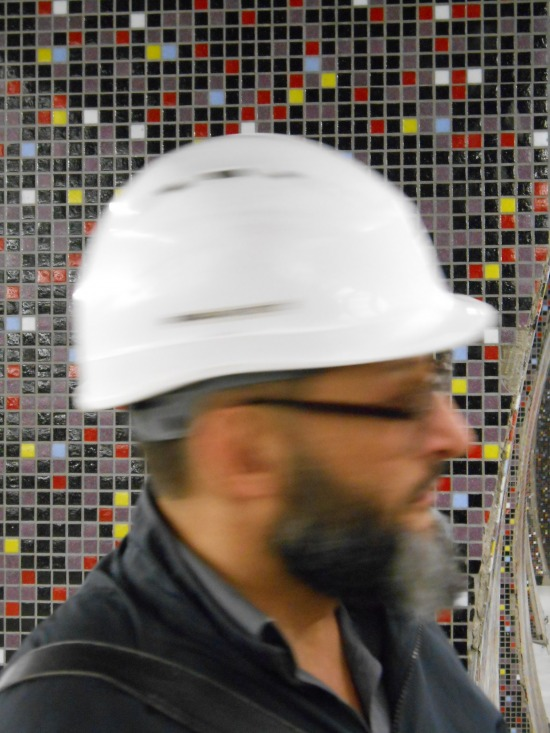 Gellért tér mozaik