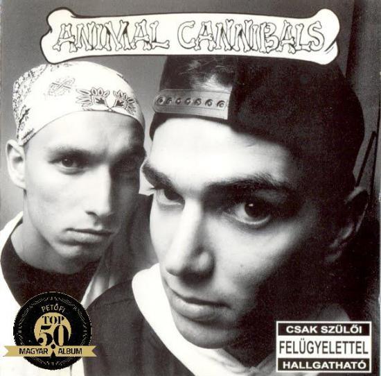 ANIMAL CANNIBALS – FEHÉREN FEKETE, FEKETÉN FEHÉR (Warner Magneoton, 1995)
