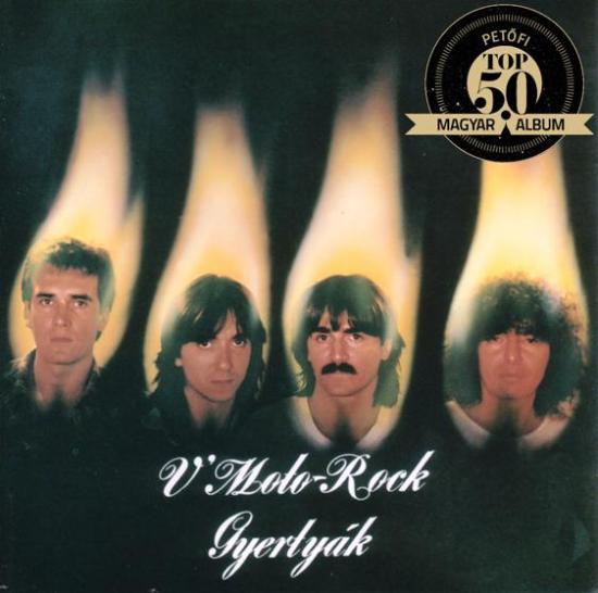V'MOTO ROCK – GYERTYÁK (Hungaroton Pepita, 1982)