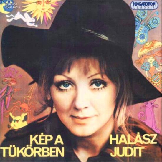 HALÁSZ JUDIT – KÉP A TÜKÖRBEN (Hungaroton, 1973)