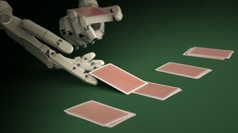 Pókerező robot