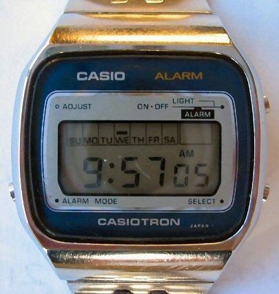 Casiotron, az egyik első sorozatban gyártott kvarcóra