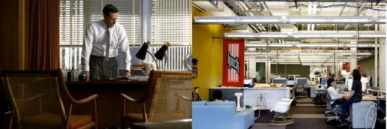munkahelyek y-generáció Y-generációs munkavállaló munkahelyi környezetek creative village nyitott terű iroda zaj zsúfoltság austin nashville phd market