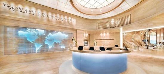 A világ érdekes Scientológia új épület Florida Clearwater egyház főhadiszállás központ