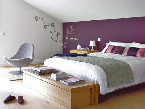 Hálószobák a tetőtérben - otthonos