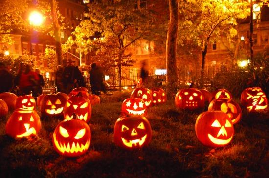 tök töklámpás halloween dekoráció gyertya mécses diy csináld magad