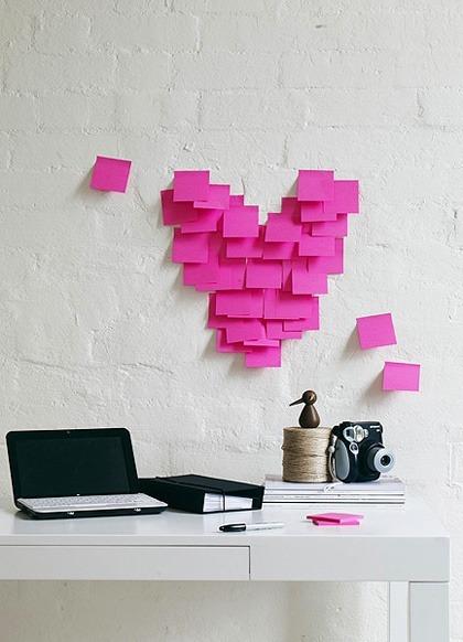 szív romantika rózsaszín csináld magad diy inspiráció ötletek kreatív dekoráció hangulat