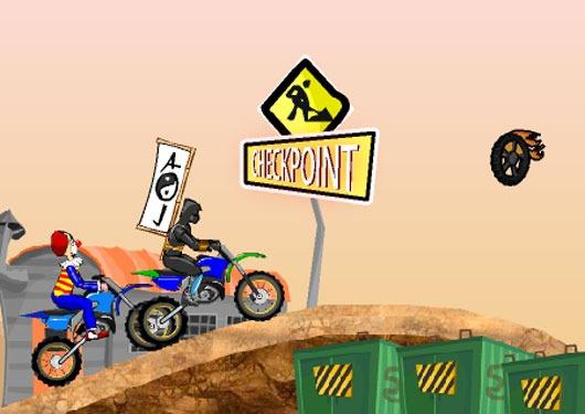 Moto Rush 2 motoros játék