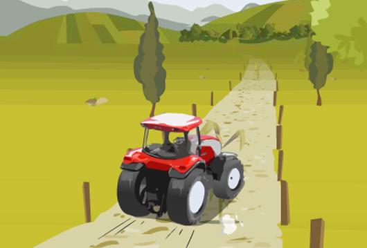 Traktor versenyes játékok