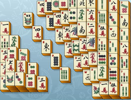 Klasszikus  madzsong játék