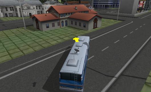 3D buszos játék