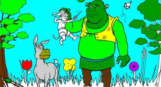 Shrek Create Color