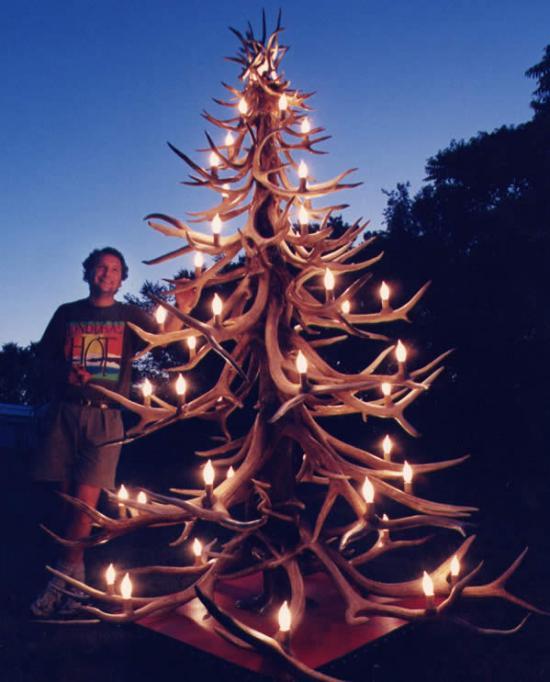 Karácsony barkácsolás fura fa