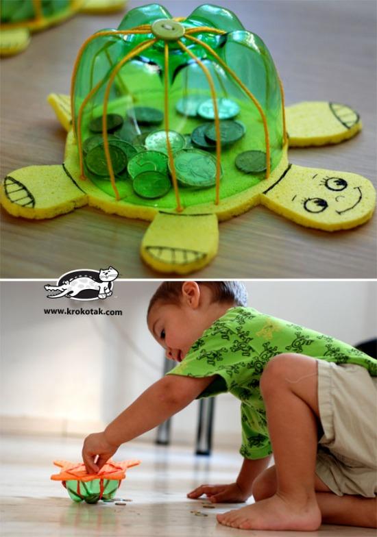 játék PET-palack újrahasznosítás pritt