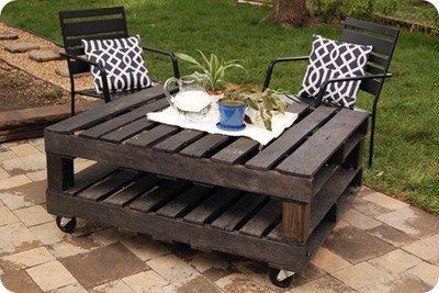 raklap raklap-bútor újrahasznosítás csináld magad kert