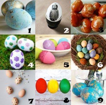 húsvét tojásfestés