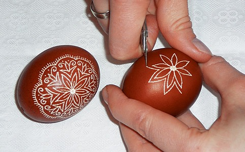hímes_tojás húsvét tojásfestés