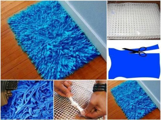 szőnyegkészítés subázás szőnyeg csomózás DIY csináld magad