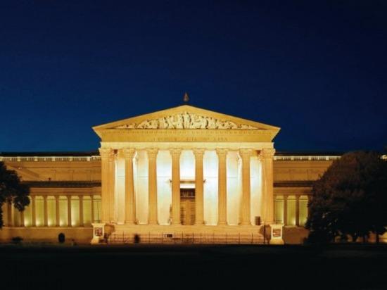 Szépművészeti Múzeum éjjel