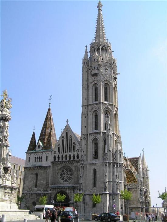 budapesti Mátyás templom épülete
