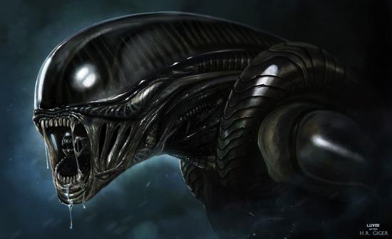 H R Giger Alien