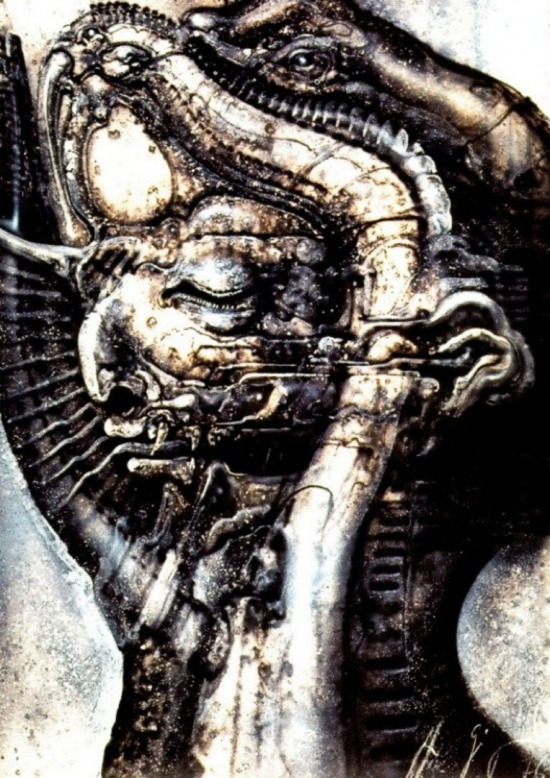 H R Giger - lovecraft Necronomicon