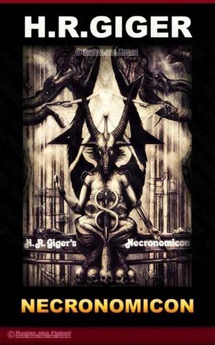 Salvador Dali - H R Giger - Necronomicon