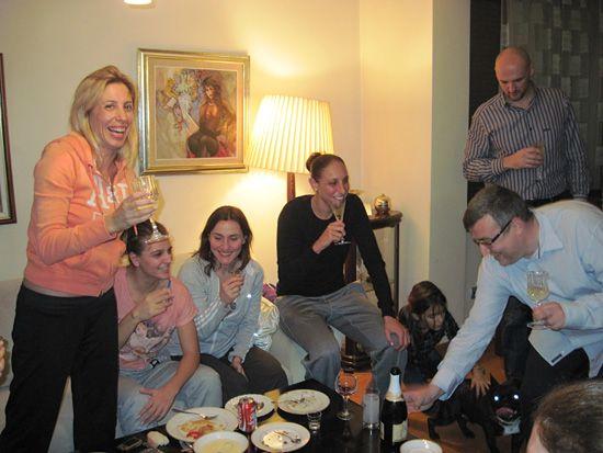 Taurasi feketében pezsgőzik