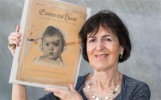zsidó zsidó kislány nácik Harmadik Birodalom Hessy Taft