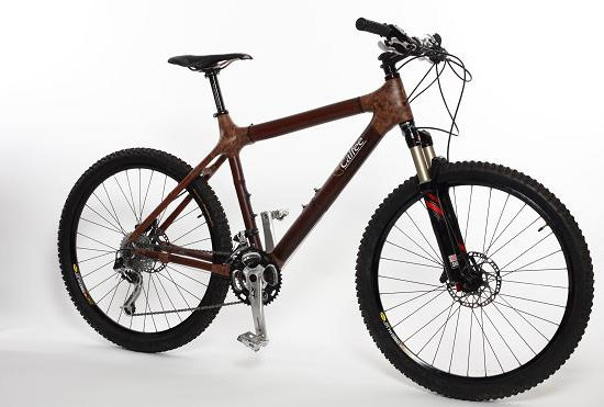 kerékpár bambusz bringa Nagy-Britannia közlekedés