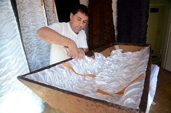 koporsó urna temetés Rákóczifalva kartonpapír fenntarthatóság