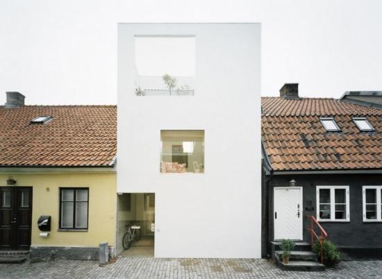 Landskrona, családi ház - (c) www.epiteszforum.hu