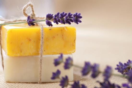 házi készítésű szappan