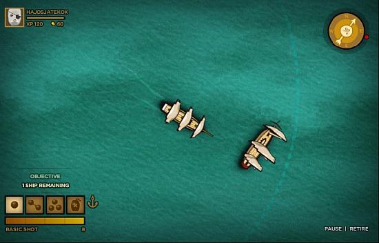 Trafalgari Csata játék kép