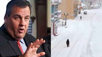 Chris Christie és a hóvihar