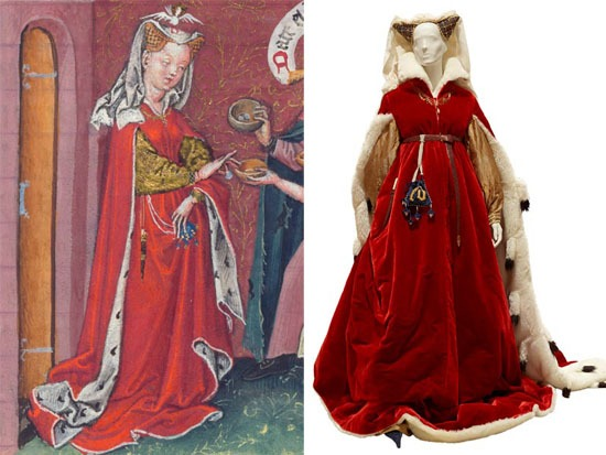 "Életre kelt"" középkori divat - silouette b815a370f2"