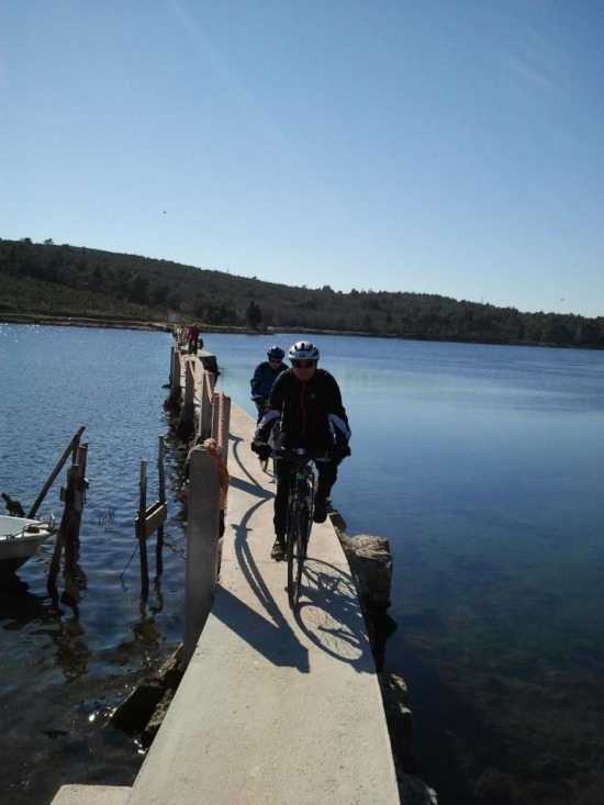 Medulin edzőtábor túrakerékpár