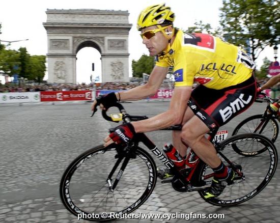 Cadel Evans 2011 Tour de France winner