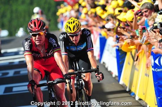 Wiggins Cadel Tour de France