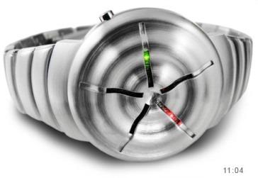 A 12-5-9 Q LED óra fekete és ezüst kivitelben 72150f5759