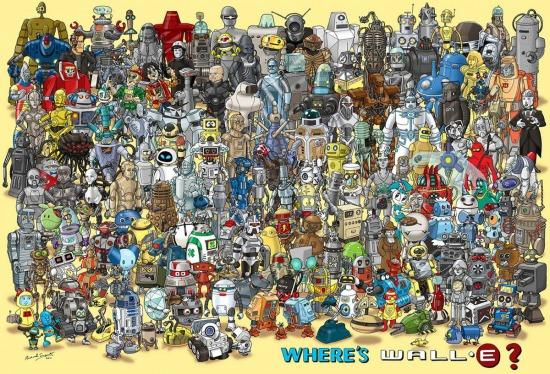 Találd meg Wall-Et!
