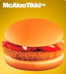 McAloo Tikki Burger