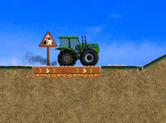 Super Traktor Játék