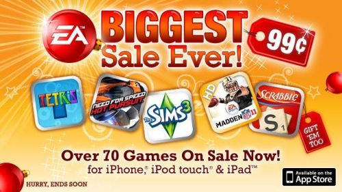 Electronic Arts játékvásár