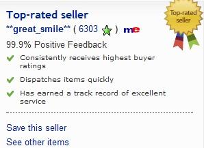 6.303 sikeres tranzakciója volt és a vásárlók 99.9%-a elégedett volt a  termékkel. 8898b36d92
