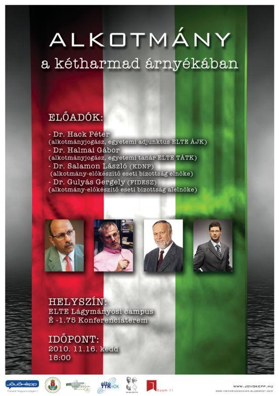 Alkotmány a kétharmad árnyékában - konferencia