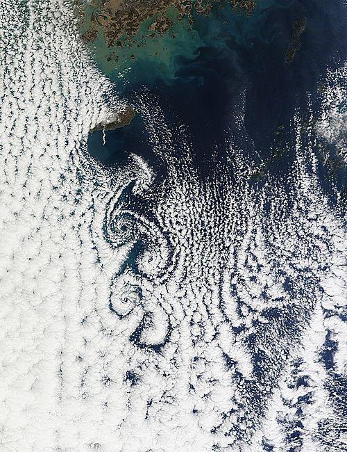[műholdkép] Koreai felőörvény