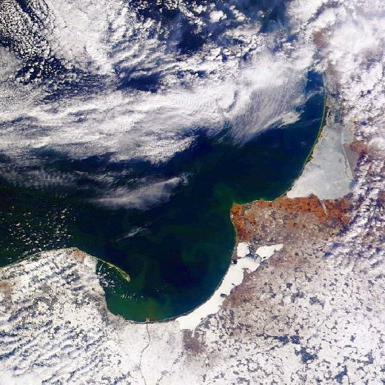 MODIS Balti-tenger 2013. március 25.