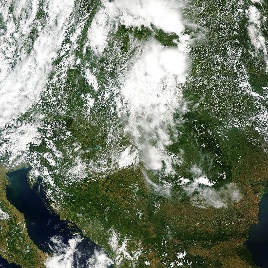 A teljes műholdkép átnézetes képe